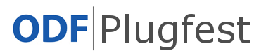 odf plugfest logo