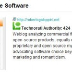 technorati's Commercial Open Source blog page